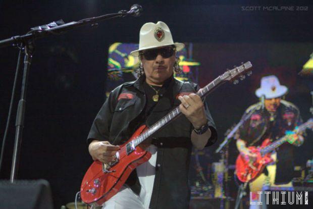 Carlos Santana - Photo by Scott McAlpine