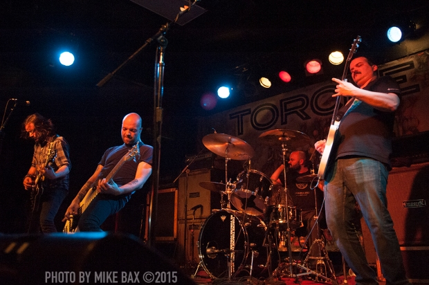 Torche - Lee's Palace, Toronto - March 21st, 2015 Photo by Mike Bax
