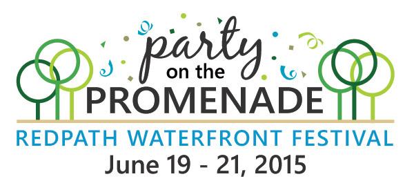 Party on the Promenade Logo
