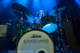 Graveyard - London Music Hall, London - May 21st, 2015 Photos by Mike Bax