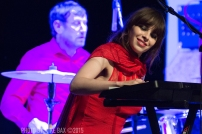 Le Butcherettes – Canadian Music Week - Sony Centre for the Performing Arts, Toronto - May 9th, 2015 Photo by Mike Bax