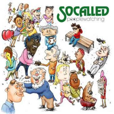 Socalled - Peoplewatching - Album Art