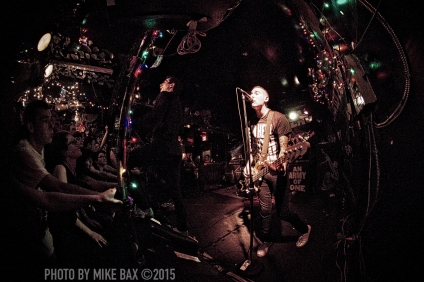 Anti-Flag - Bovine Sex Club, Toronto - June 4th, 2015 - photo by Mike Bax