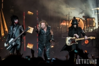 15-08-22 - Toronto - Rock icons Motley Crue made a stop in Toronto on their Final Tour. Shock rocker Alice Cooper opened the show. Pictured: Motley Crue. (c) 2015 - Darren Eagles Photography