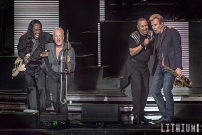 Chicago performing with Earth Wind and Fire at Molson Amphitheater in Toronto