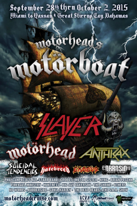 Motorhead's Motorboat Cruise - September 2015