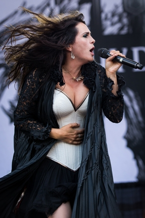 Within Temptation Heavy Montreal a Parc Jean Drapeau a Montreal, Quebec, Canada PHOTO BY TIM SNOW