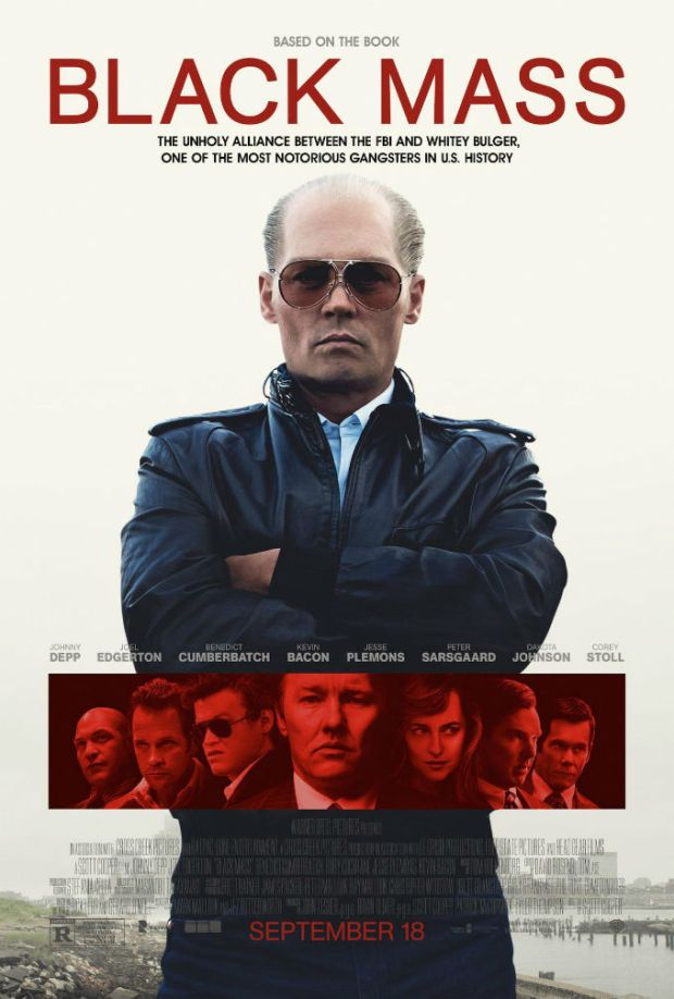 Black Mass starring Johnny Depp