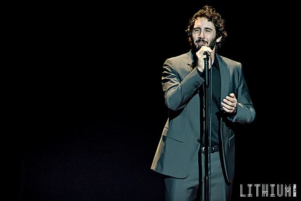 Josh Groban performs at the Sony Centre in Toronto