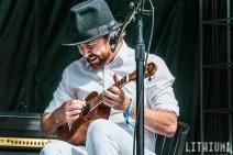 Elliott Brood performs at Turf Fest in Toronto