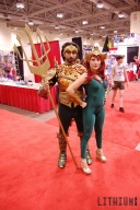 Fan Expo 2015 Aquaman & Mera