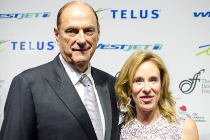 Jim and Sandy Treliving
