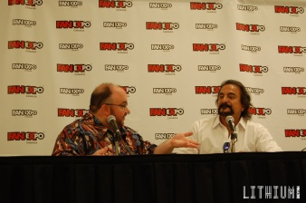 Michael Felsher & Tom Savini Fan Expo 2015