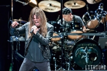 Queensryche performing at Molson Amphitheatre in Toronto
