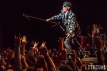 Scorpions perform at Molson Amphitheatre in Toronto