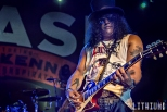 Slash performing at Sound Academy in Toronto