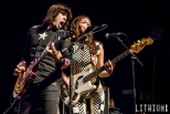 The Last Internationale performing at Sound Academy in Toronto