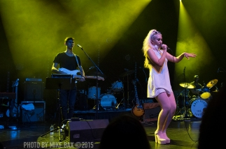 Kali Uchis - Danforth Music Hall, Toronto - October 23rd, 2015 photo by Mike Bax