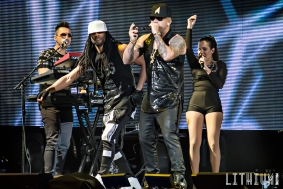 Wisin performs at the Air Canada Centre
