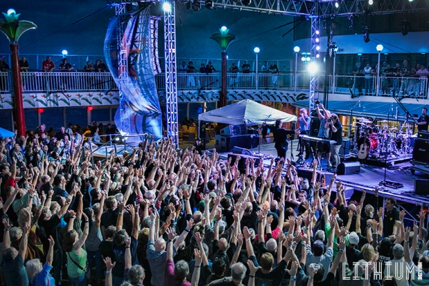 Sail Away Party on Cruise To The Edge 2015