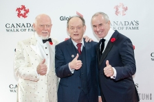 Don Cherry, Ron Maclean and Rex Murphy