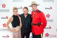 Johnny Reid with wife Jennifer