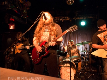 Sandveiss - Bovine Sex Club, Toronto - November 27th, 2015 - Photo by Mike Bax