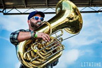 Andy Frasco on The Beach Stage - Southern Craft Cruise 2016