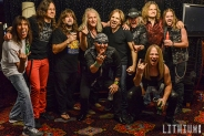 Tesla with Helix on The Monsters of Rock Cruise 2016