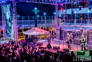 Helix on The Monsters of Rock Cruise