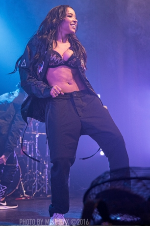 Tinashe - Phoenix Concert Theatre, Toronto - March 4th, 2016 - Photo by Mike Bax