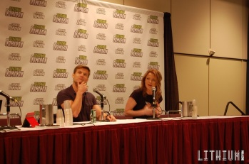 Toronto ComiCon 2016 Casper Van Dien and Dina Meyer