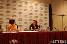 Toronto ComiCon 2016 Tovah Feldshuh and Karli Woods