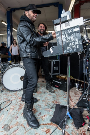 16-05-14 - Master Mechanic - Legendary Canadian artist Daniel Lanois played an intimate set from inside a local Master Mechanic shop during this year's Woofest in Toronto. (c) 2016 - Darren Eagles Photography