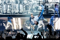 16-05-18 - Toronto - Canadian pop superstar JUSTIN BIEBER brought his Purpose Tour to the Air Canada Centre. Opening the show was POST MALONE and MOXIE RAIA. Pictured: Justin Bieber. (c) 2016 - Darren Eagles Photography