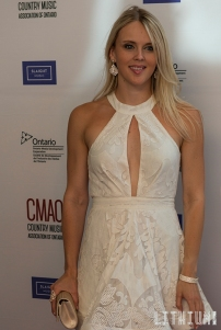 Krista Earle-CMAO Red Carpet at Flato Theatre