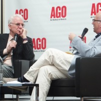 Steve Martin in conversation with Andrew Hunter at AGO (3)