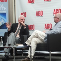 Steve Martin in conversation with Andrew Hunter at AGO (5)