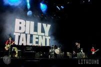 16-07-16 - Toronto - 80's rockers GUNS N' ROSES tore through a sold out Rogers Centre in Toronto. Opening the show was local band BILLY TALENT. Pictured: Billy Talent. (c) 2016 - Darren Eagles Photography
