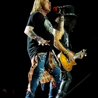 16-07-16 - Toronto - 80's rockers GUNS N' ROSES tore through a sold out Rogers Centre in Toronto. Opening the show was local band BILLY TALENT. Pictured: Guns n' Roses. (c) 2016 - Darren Eagles Photography