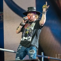 16-07-17 - Toronto - 80's rockers GUNS N' ROSES tore through a sold out Rogers Centre in Toronto. Opening the show was local band BILLY TALENT. Pictured: Guns n' Roses. (c) 2016 - Darren Eagles Photography