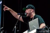 DJ Drama at Molson Amphitheatre in Toronto