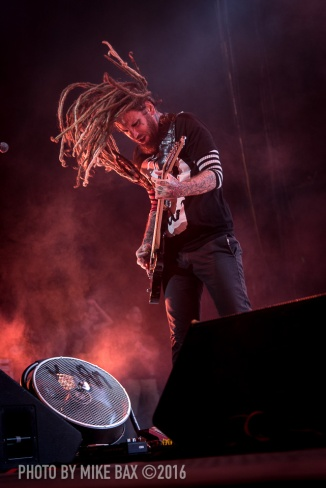 Korn Return of the Dreads tour - Molson Canadian Amphitheatre, Toronto - August 23rd, 2016 - Photo by Mike Bax