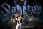 MONTREAL, QUE.: August 6, 2016-- Sabaton perform during the first day of the 2016 Heavy Montreal festival at Parc Jean Drapeau on Saturday August 6, 2016. (Tim Snow / EVENKO MANDATORY CREDIT)