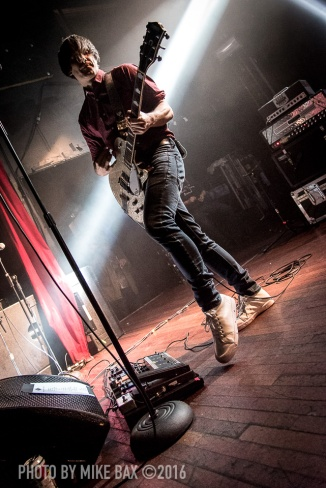 Ash - Mod Club Theatre, Toronto October 1st, 2016 - photo Mike Bax