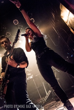 Gone In April - Mod Club Theatre, Toronto - October 3rd, 2016 - photo Mike Bax