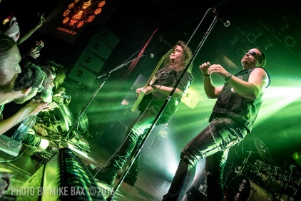 Symphony X - Mod Club Theatre, Toronto - October 3rd, 2016 - photo Mike Bax