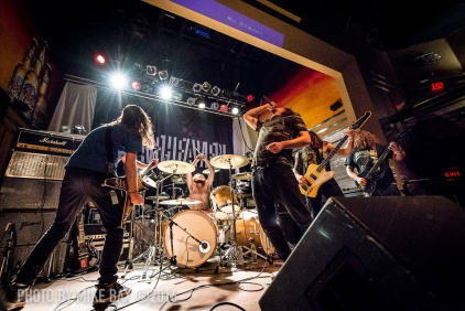 Inter Arma - Dallas Night Club, Kitchener November 24th, 2016 - photo by Mike Bax