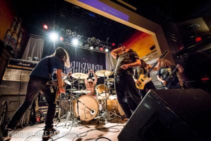 Inter Arma - Dallas Night Club, Kitchener November 24th, 2016 - photo by Mike Bax