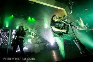 Carcass - Dallas Night Club, Kitchener November 24th, 2016 - photo by Mike Bax